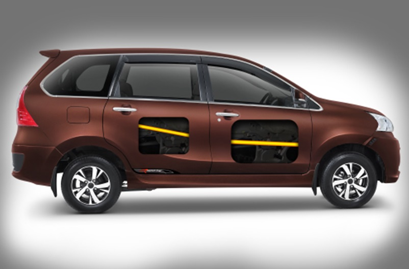 Fitur Keselamatan Daihatsu Xenia menggunakan rangka bodi yang mampu meminimalisir benturan