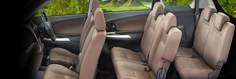 Interior Daihatsu Xenia menyediakan beragam fitur mumpuni yang siap menyamankan seluruh penumpang