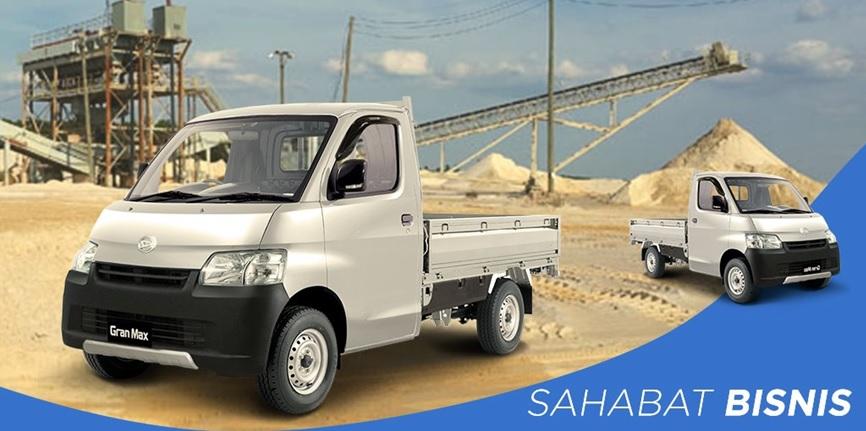 Daihatsu Gran Max Pick Up memang menjadi sahabat bisnis keluarga Indonesia yang sudah dipercaya sejak dulu