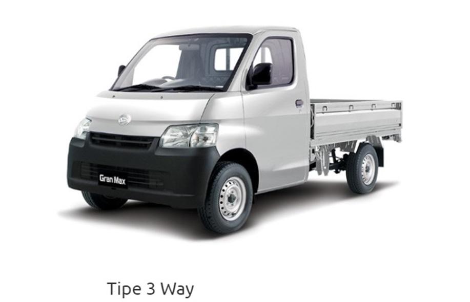 Daihatsu Gran Max 3 Way memiliki harga yang cukup tinggi dibanding varian standarnya karena terdapat keunggulan lebih pada varian satu ini