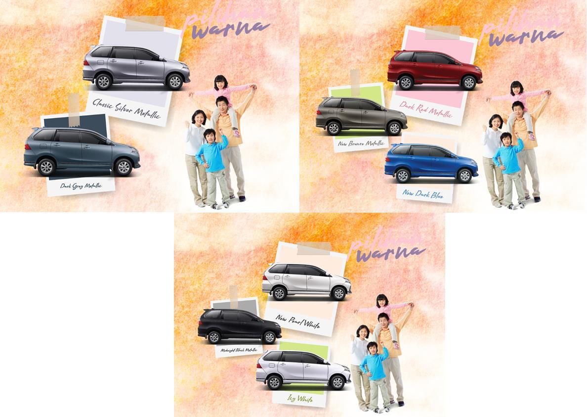 Pilihan warna Daihatsu Xenia 2019 terbilang beragam