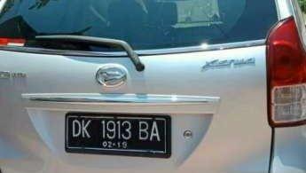 Daihatsu Xenia M 2013 dijual