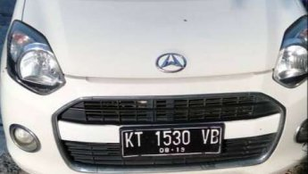Dijual cepat mobil Daihatsu Ayla X 2014, Kalimantan Timur