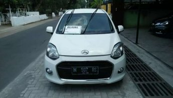 Jual mobil Daihatsu Ayla X 2014 bekas di Jawa Timur