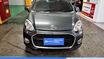 [OLXAutos] Daihatsu Ayla 2014 1.0 X A/T Bensin Abu-abu #Arjuna Tomang